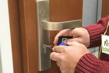 Burglary repair by Pittsburgh locksmith